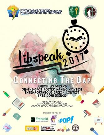 LibSpeak 2017: Connecting the Gap Feb 27 @ CCA, Pampanga [event]