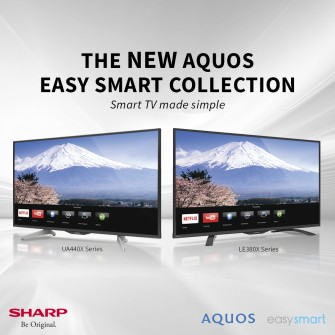 Sharp Brings Back Simple TV Pleasures Thru Easy Smart Collection