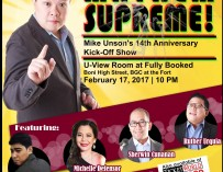 Mayhem Supreme!: Mike Unson's Anniversary Kick-Off Show [event]