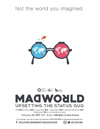 MADWORLD: Upsetting the Status Quo, Feb 26 @ MOA Arena [event]