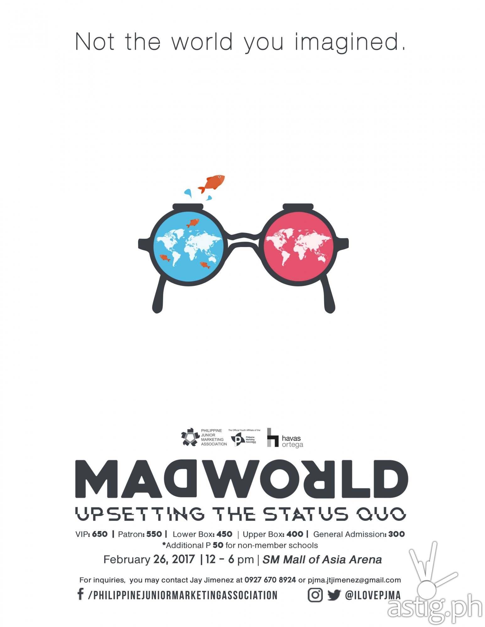 Madworld 2017 poster