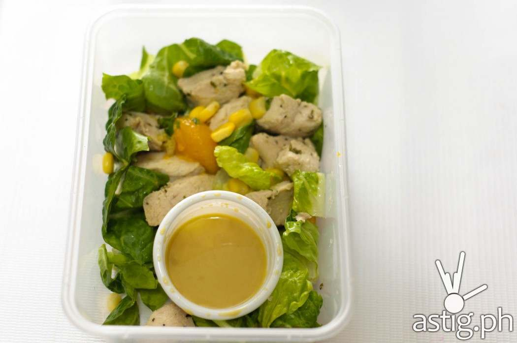 Pickle.ph orange chicken salad