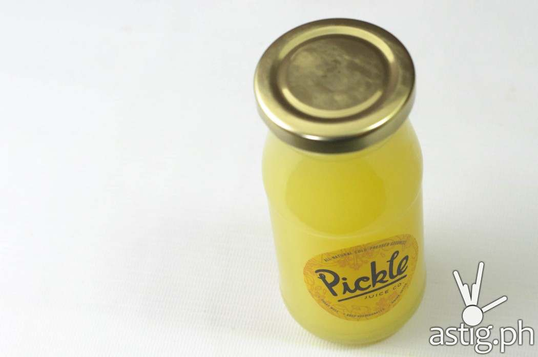 Pickle.ph premium cold-pressed juice pineapple lemon spinach stevia