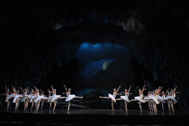 The corps de ballet in Swan Lake - Photo by Jude Bautista