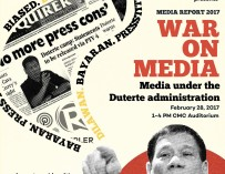 Media Report 2017: War on Media, Feb 28 @ UP Diliman [event]