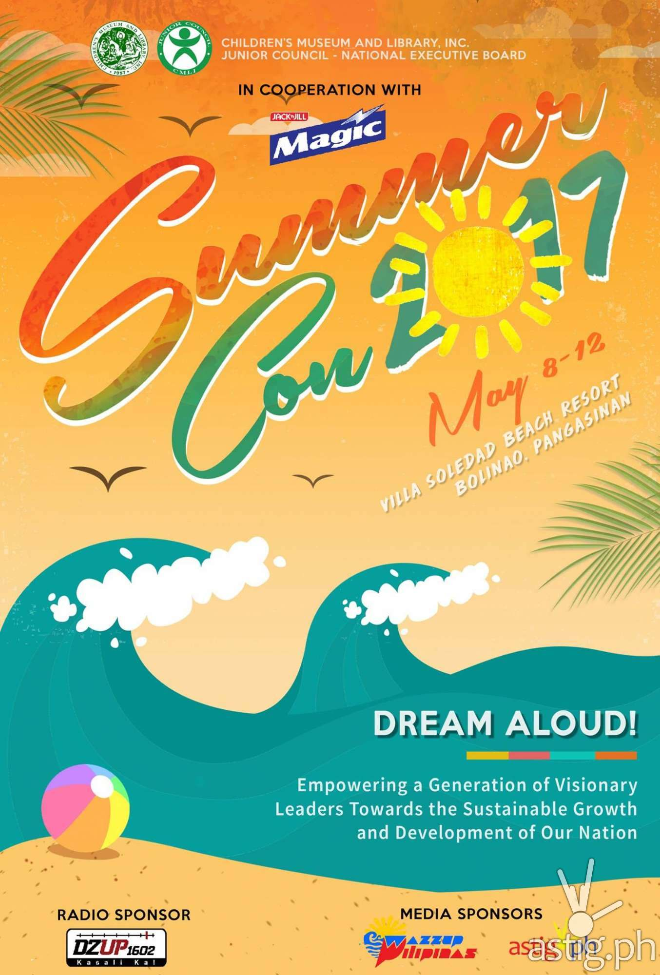 Dream Aloud! Summer Convention 2017 by CMLI poster