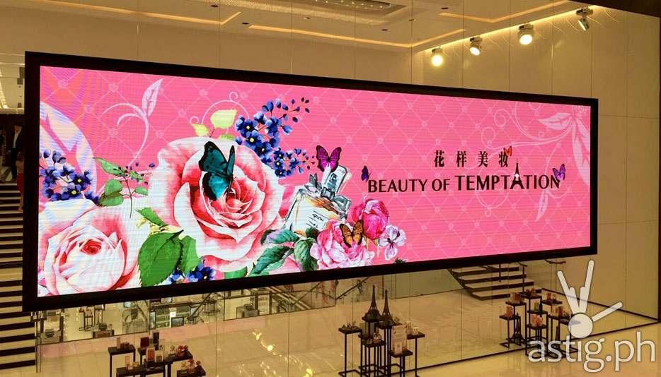 Macau Temptation Store LED