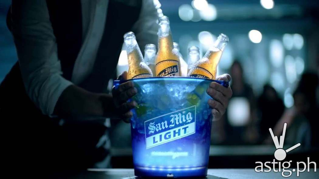 One 330ml bottle of San Mig Light contains 100 calories