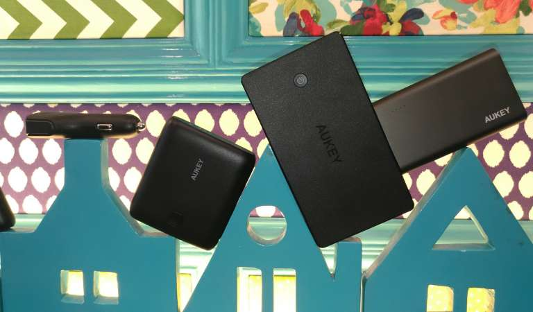 AUKEY debuts 20,000mAh powerbanks, 6-port chargers
