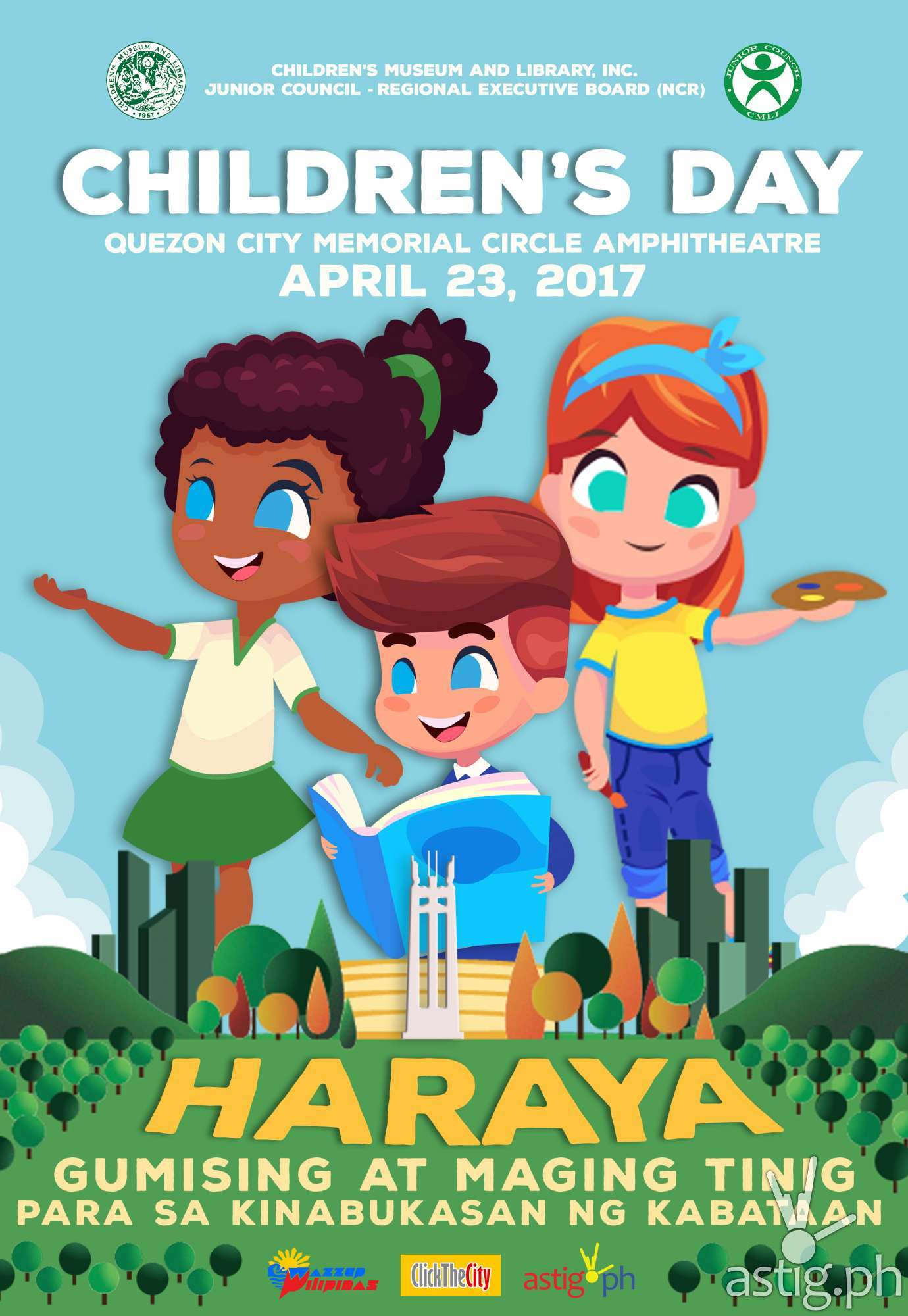 Children's Day 2017 poster