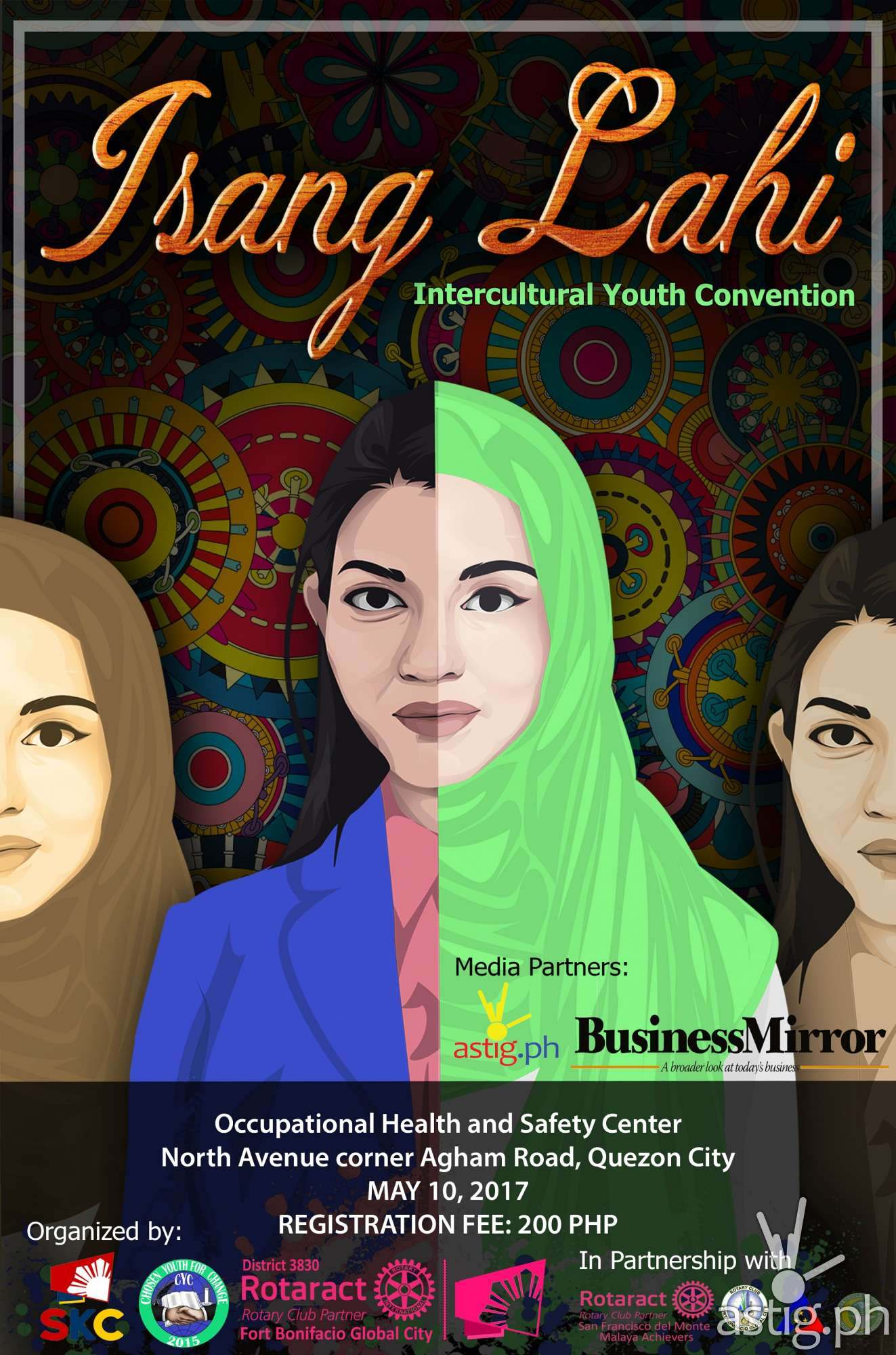 ISANG LAHI poster