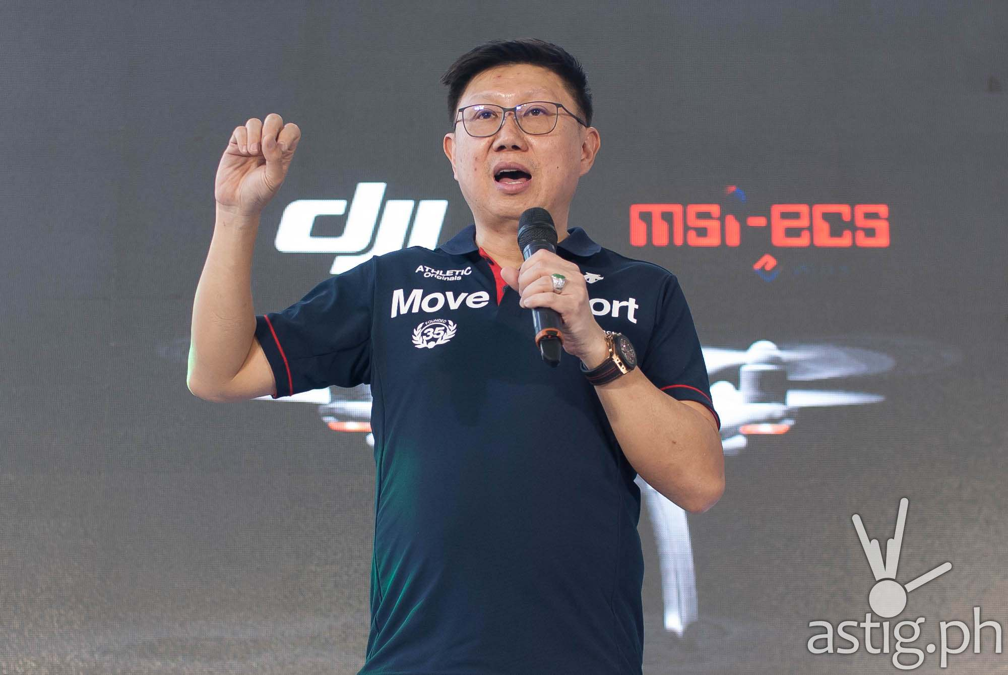 Jimmy Go, president and CEO, MSI-ECS Philippines
