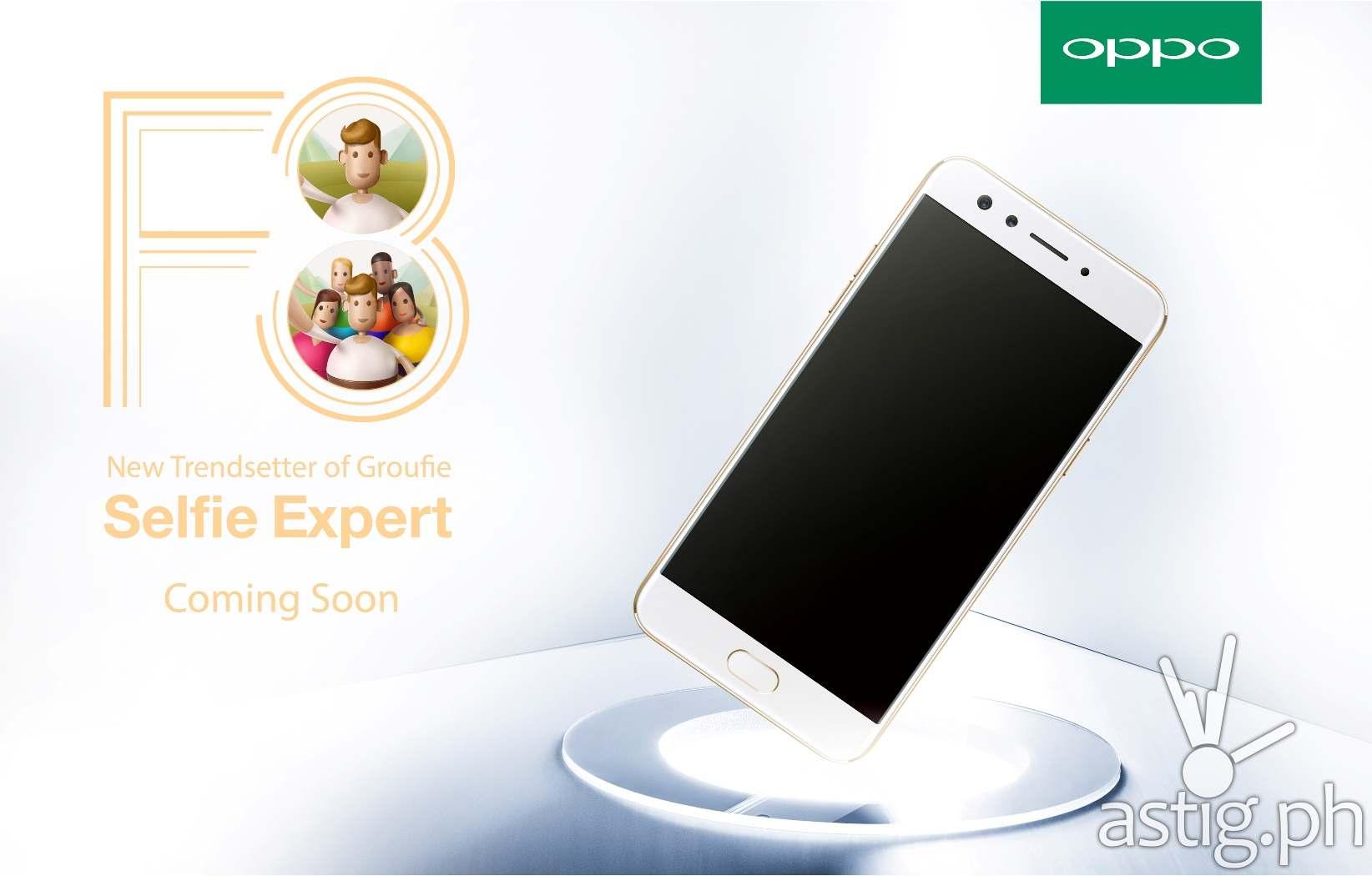 OPPO F3 groufie smartphone