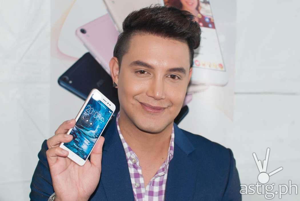 Paolo Ballesteros is the ambassador for the Zenfone Livee