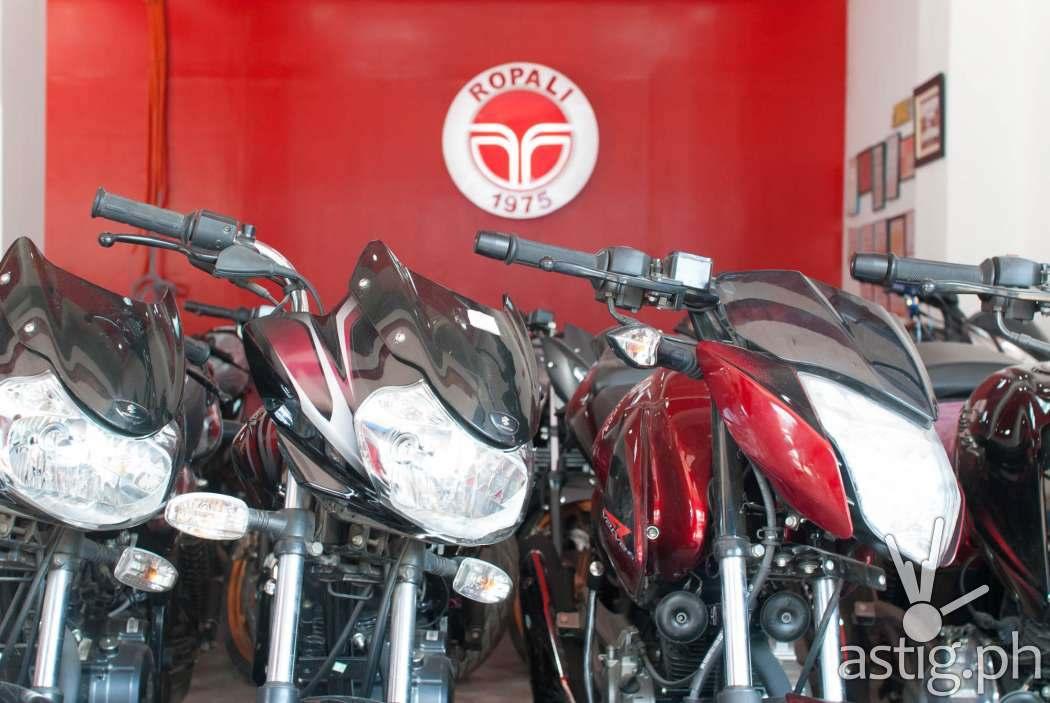 Ropali Motorcycles branch in Tuguegarao City, Cagayan