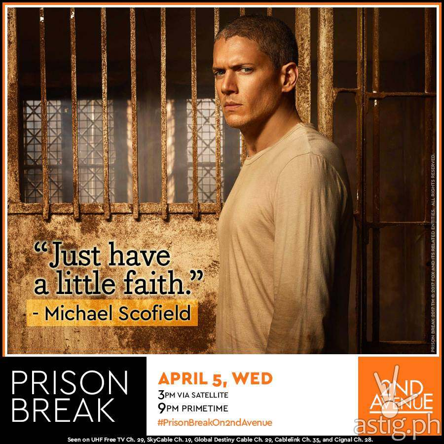 Wentworth Miller as Michael Scofield - Prison Break Season 5