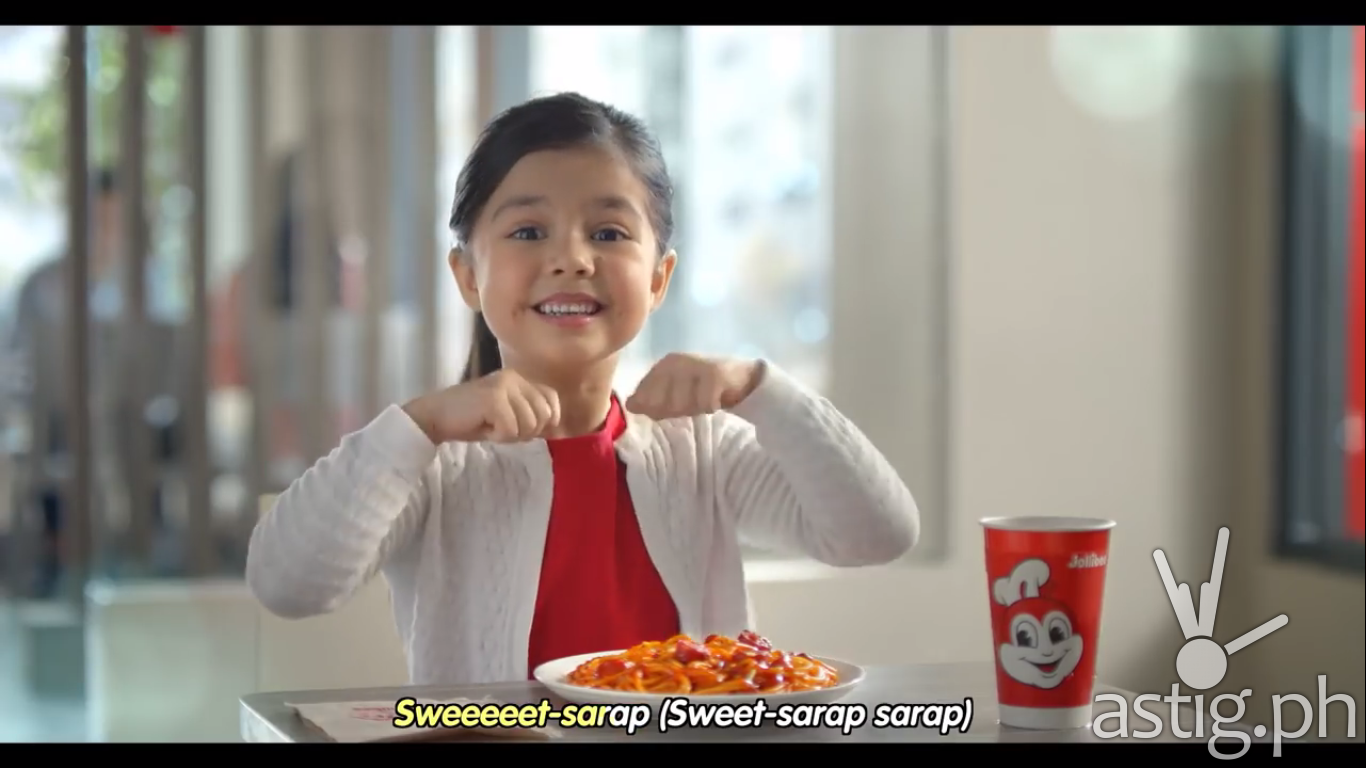 Xia Vigor dances to Jollibee in this video