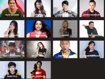 YouTube FanFest Manila 2017 lineup