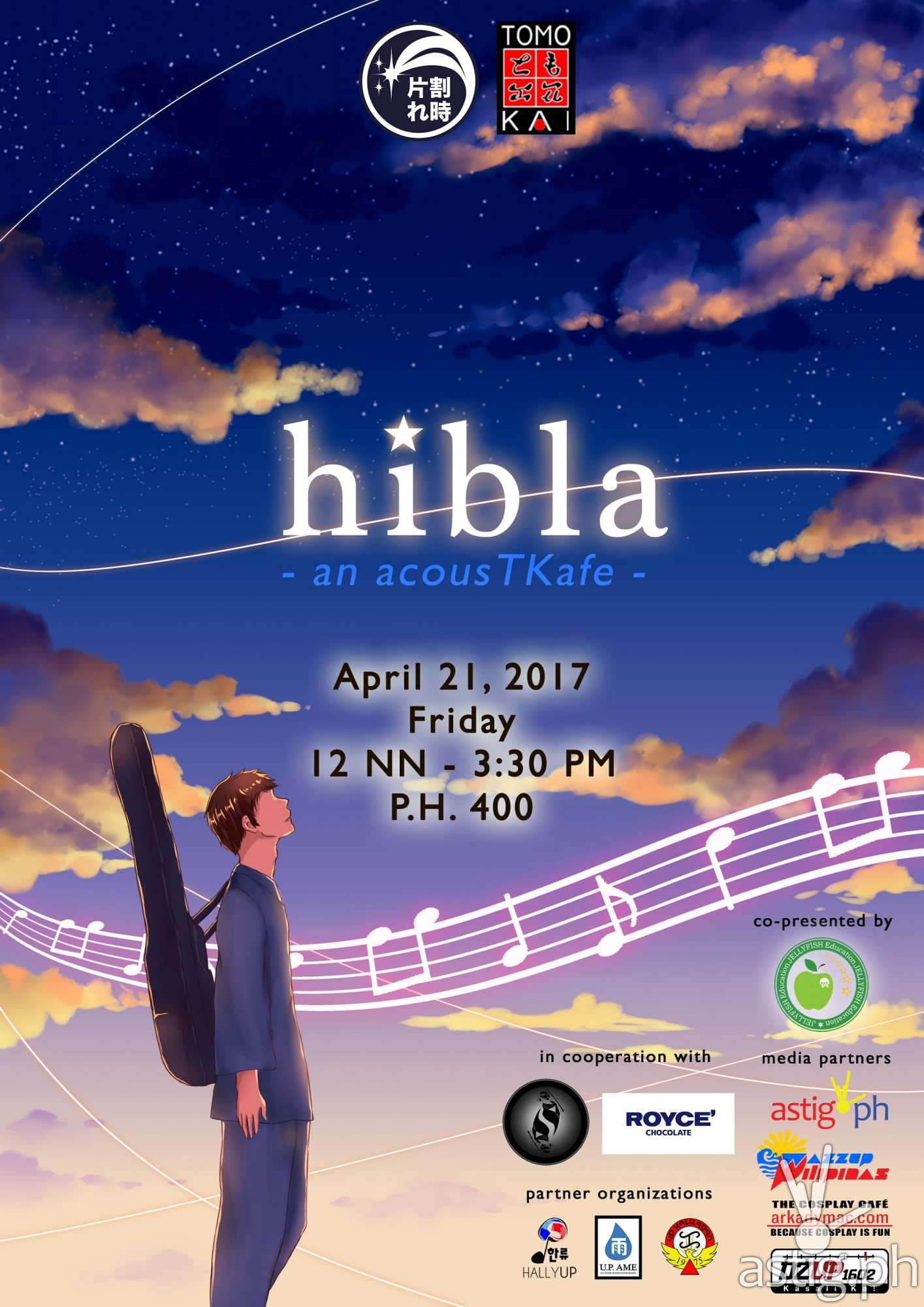 hibla event by UP Tomo-Kai poster