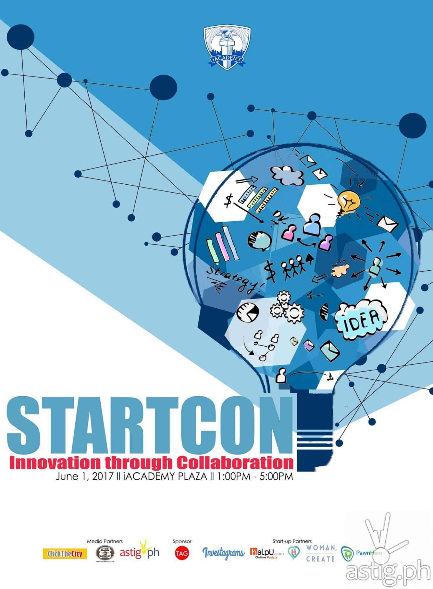 STARTCON Innovation through Collaboration poster
