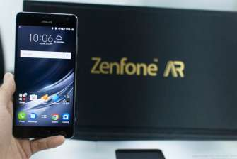ASUS Zenfone AR handheld with box