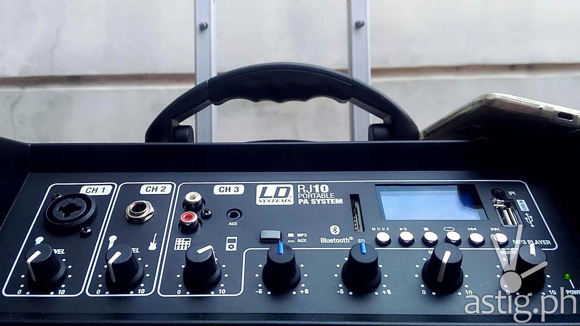 LD Roadjack 10 controls