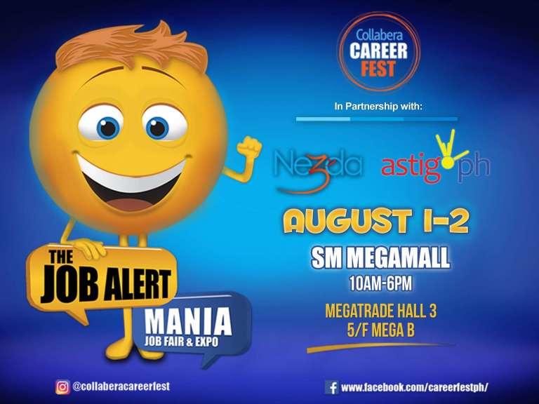 Collabera Career Fest event poster