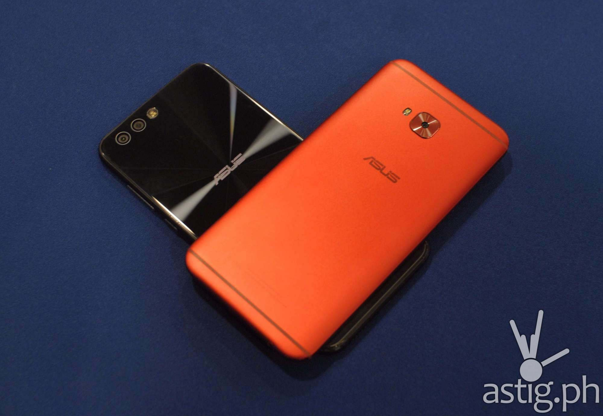 ASUS Zenfone 4 and the ASUS Zenfone 4 Selfie