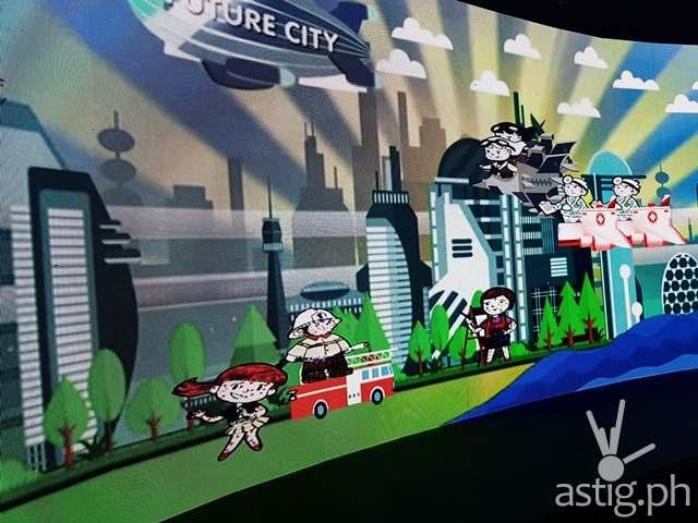 Future City An Interactive Digital Park Sketch Village