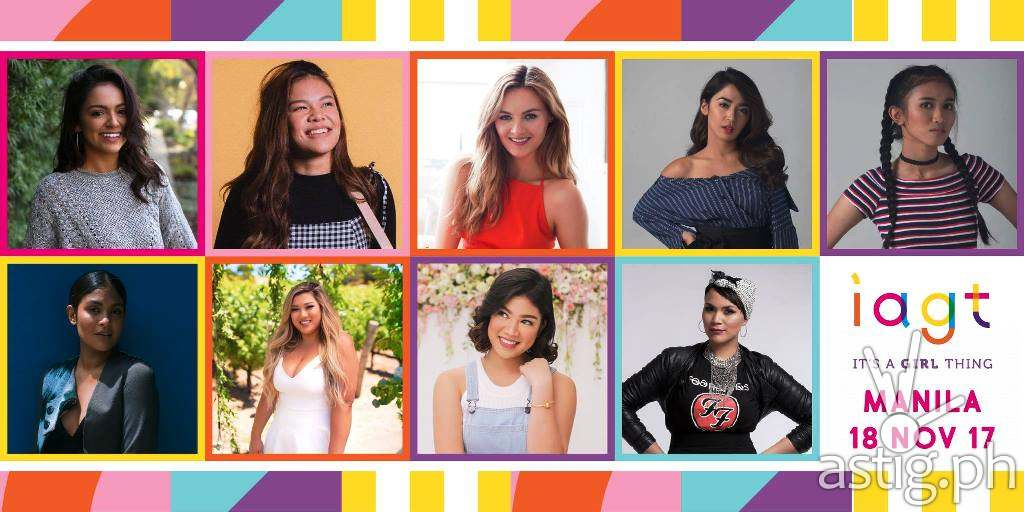 Its A Girl Thing Social Media Influencers Line Up