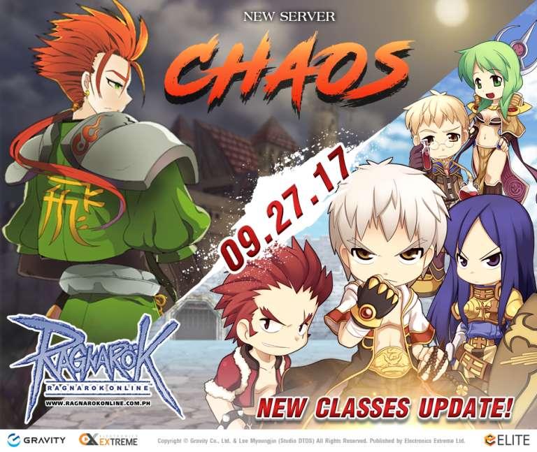ROPH Rangarok Philippines Chaos new class update