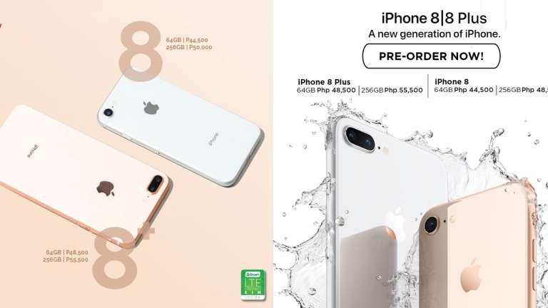 iPhone 8 and iPhone 8 Plus price Philippines - Widget City, Kimstore (Facebook)