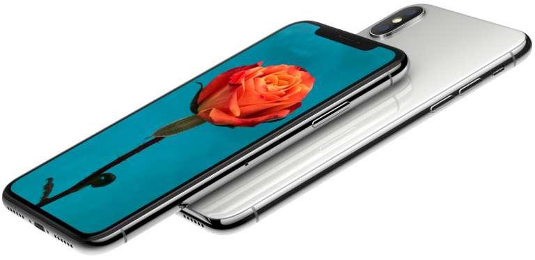 iPhone X (via Apple)