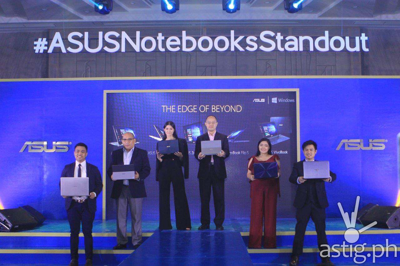 ASUS Notebook Philippine launch group photo with Maureen Wroblewitz