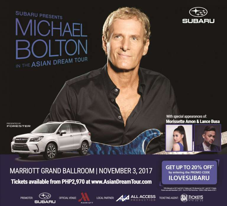 Michael Bolton Live in Manila