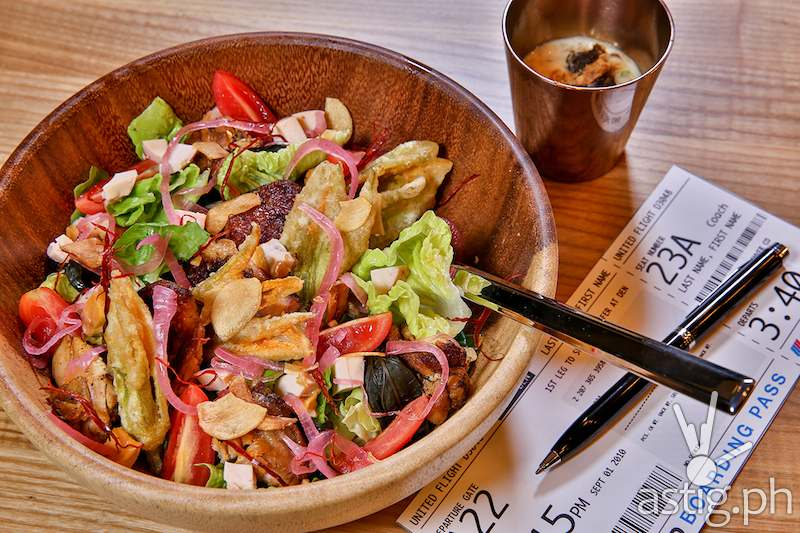 Grilled Chicken Inasal Salad, Php 280 - Manila Life Café