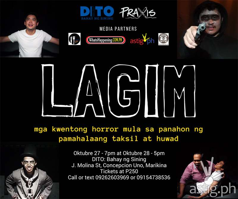 LAGIM by Praxis Literary Collective poster