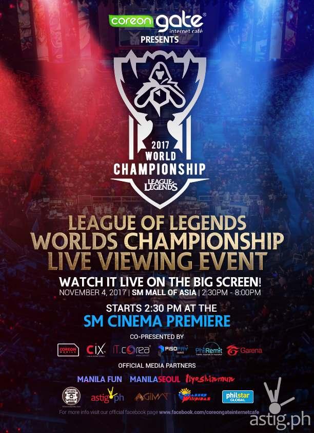 League Of Legends World Championship 2017 Event Astig Ph