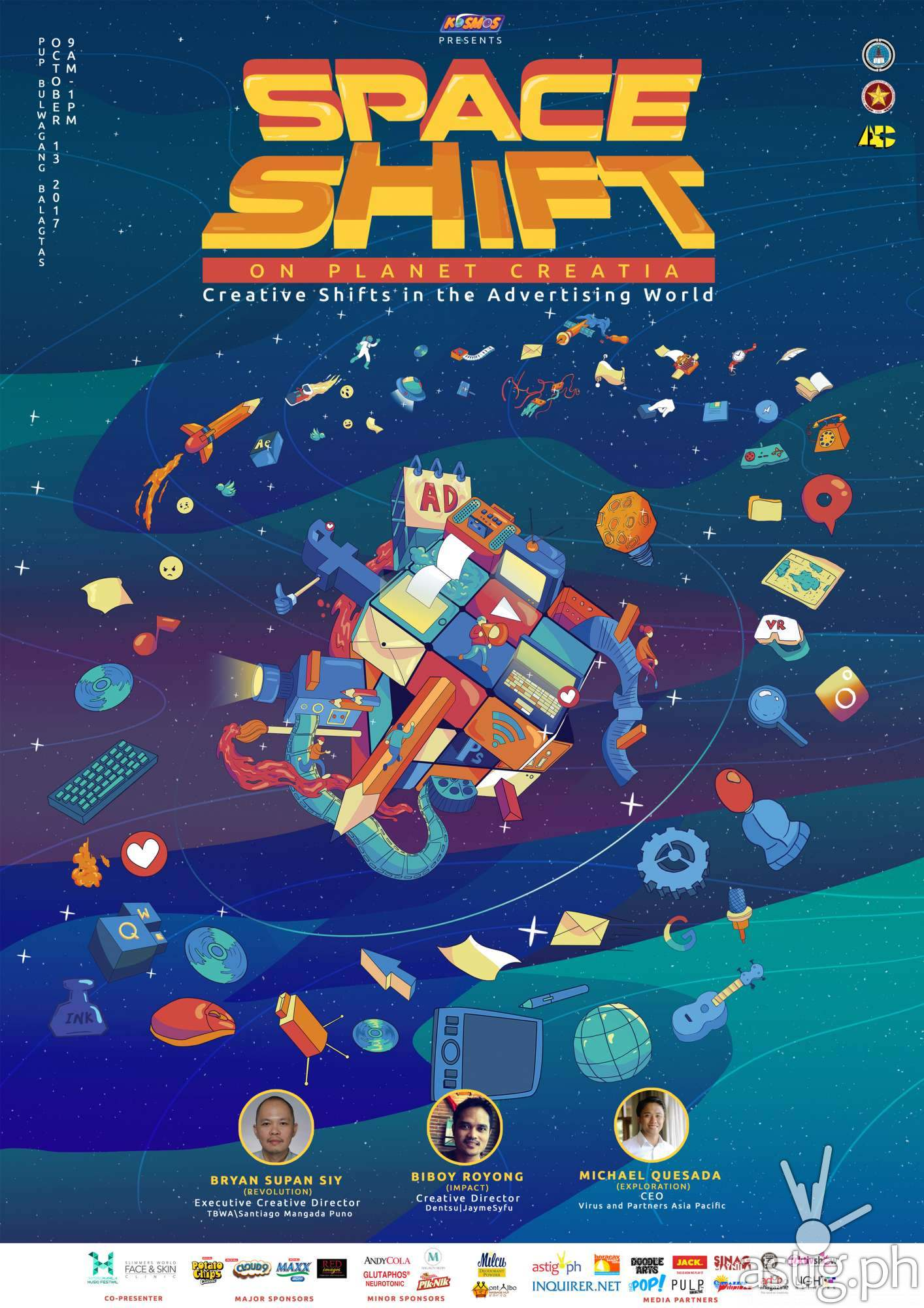 SPACE SHIFT poster