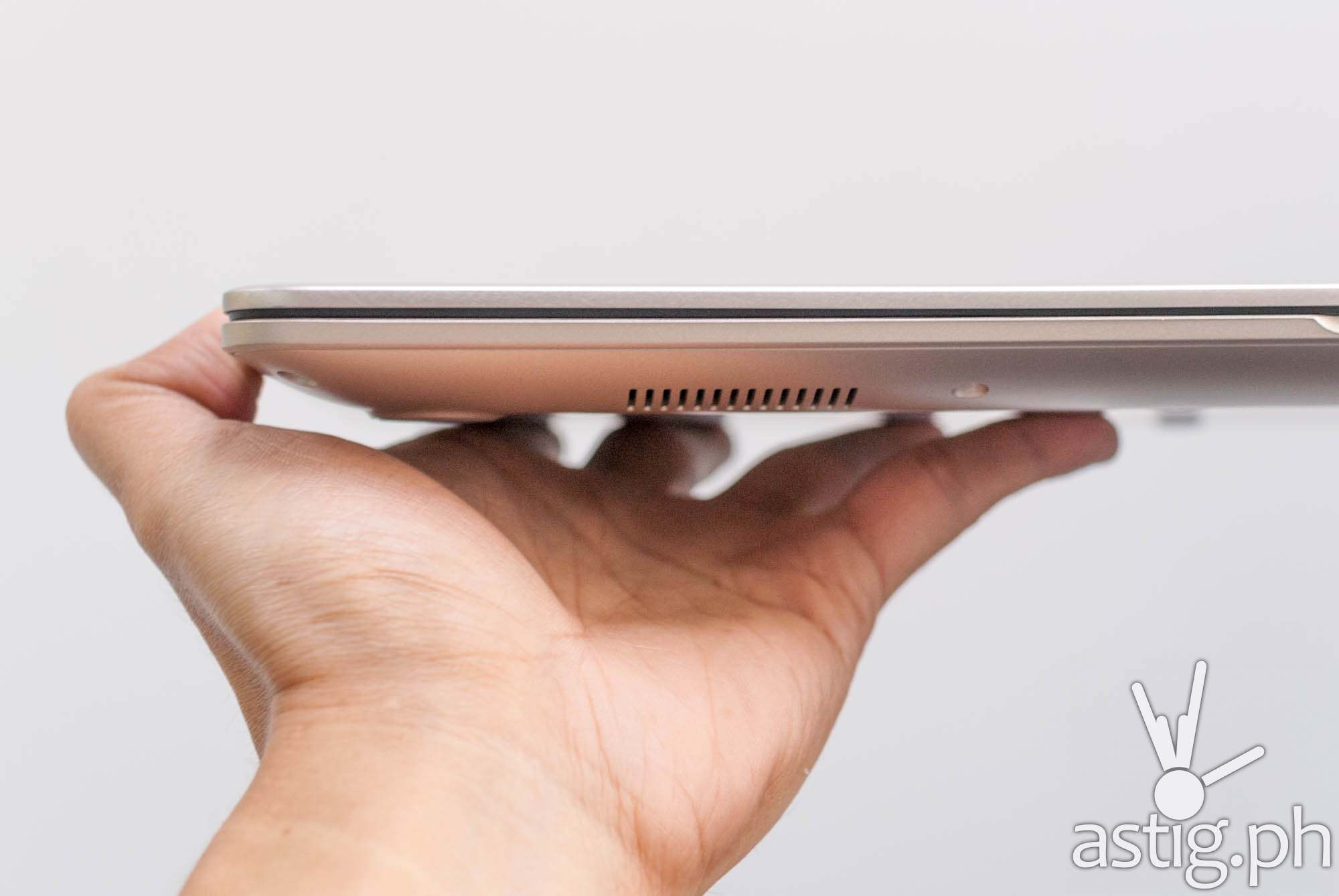 The ASUS VivoBook S15 weighs at 1.5-1.7 kilograms
