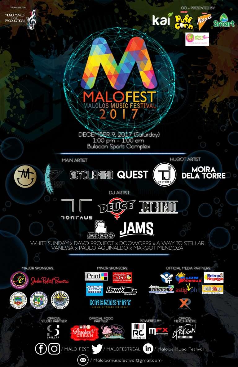 Malo Fest 2017 poster