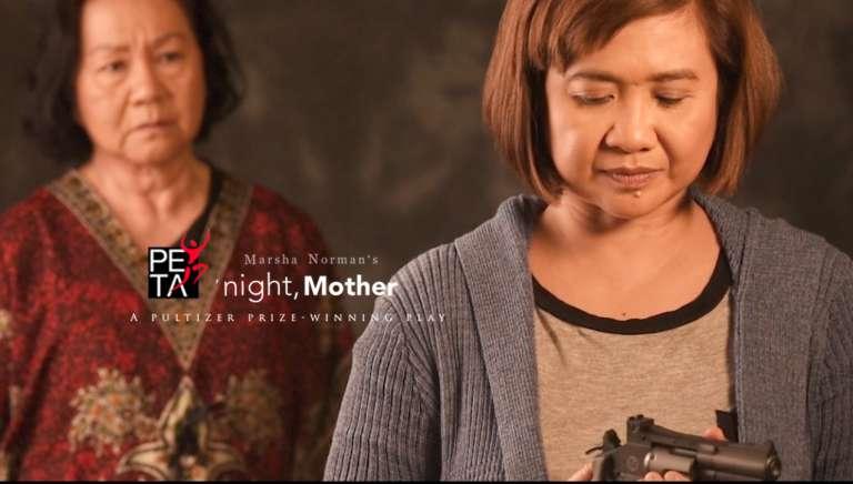 Night Mother PETA poster