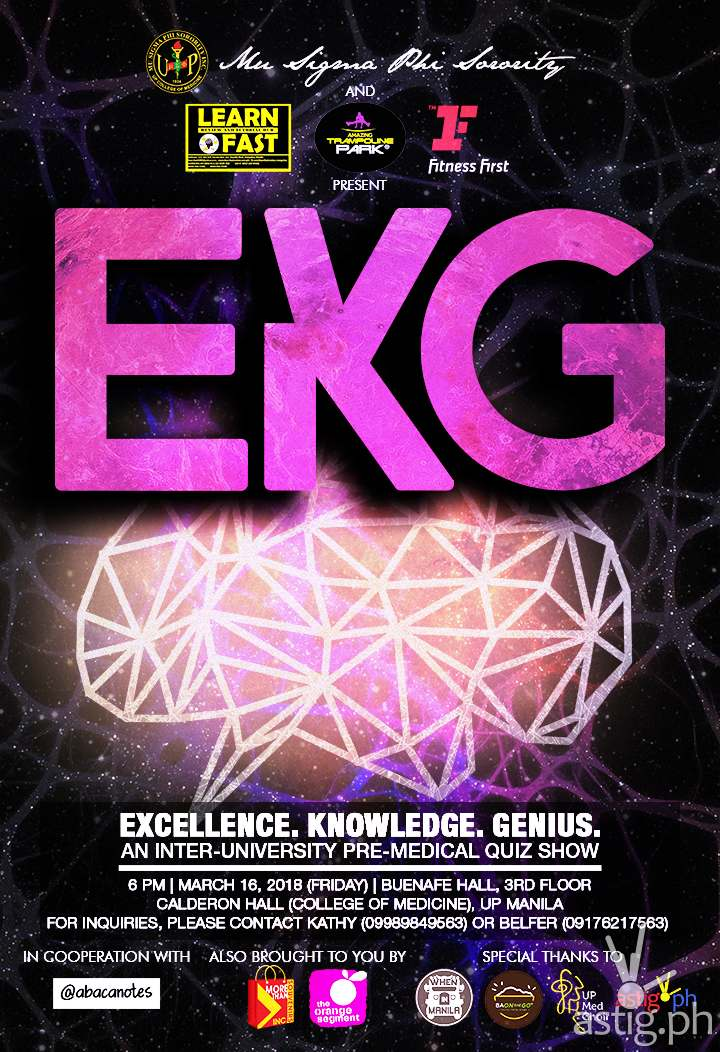 Excellence, Knowledge, Genius 2018: A Pre-Medical Inter-University