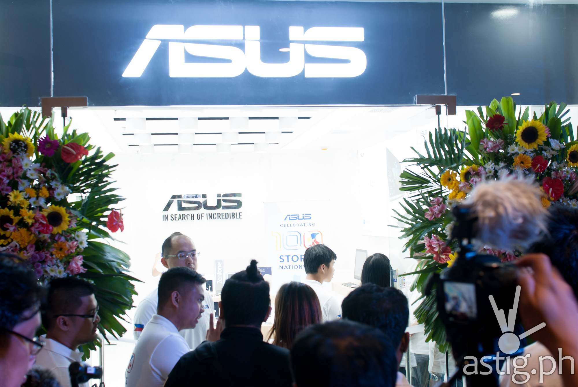 ASUS Philippines 100th store opens at Ayala Malls Feliz, Marcos Highway, Pasig