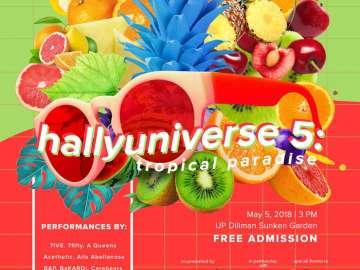 HallyUniverse 5 Tropical Paradise
