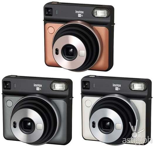 Fujifilm instax SQUARE SQ6 colors