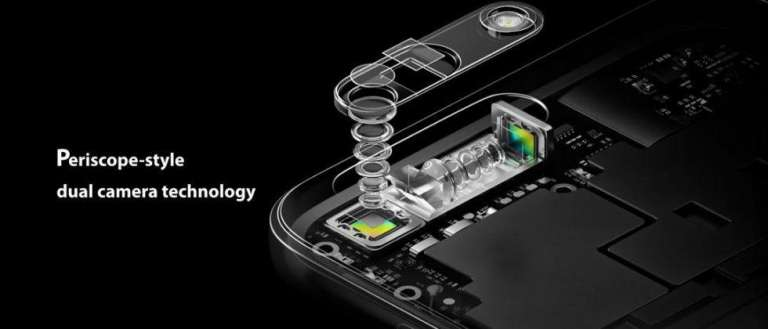 Periscope-style dual camera technology from OPPO