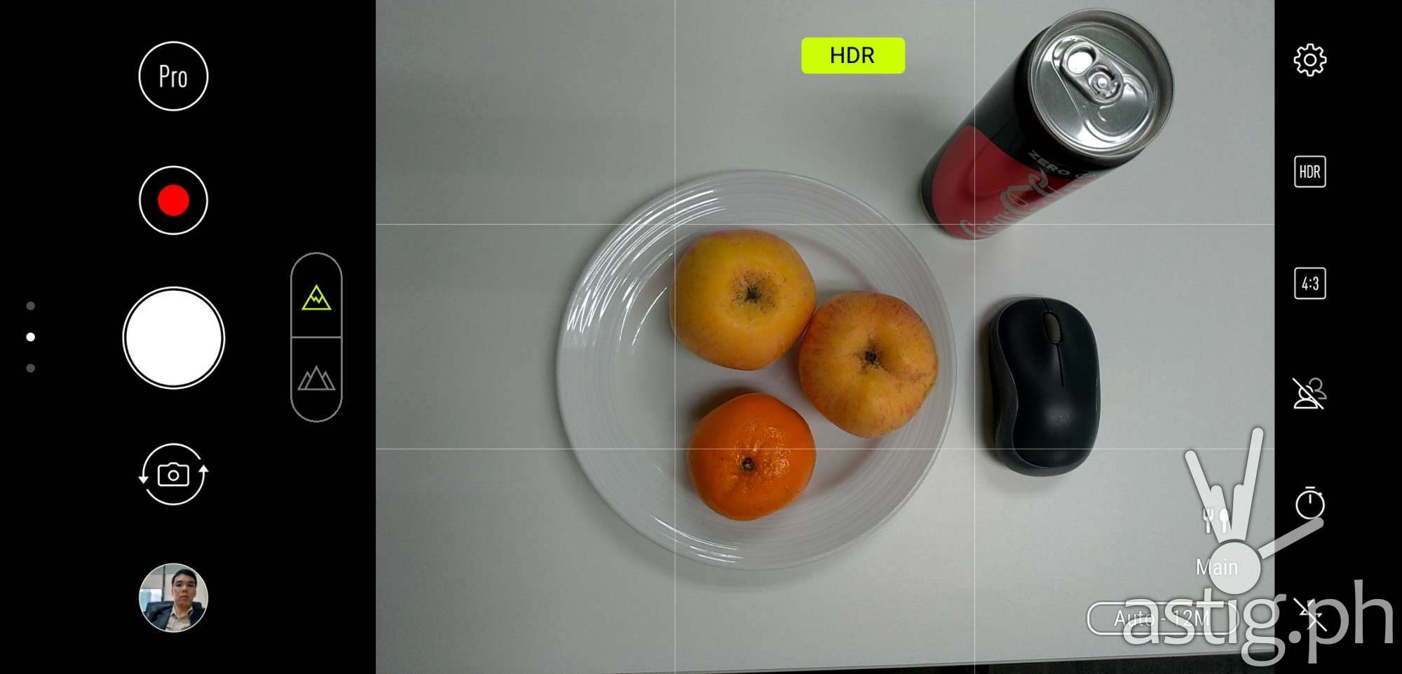 Zenfone 5 PixelMaster camera Auto mode AI scene detection