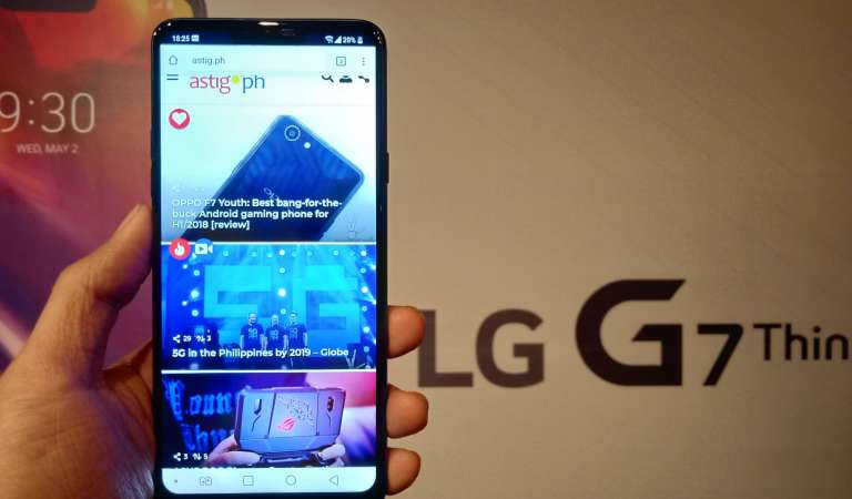 LG G7 ThinQ now available for P42,990