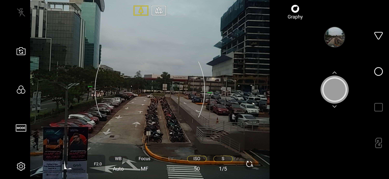 Camera settings - LG G7 ThinQ screenshot